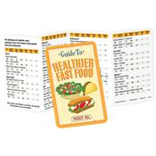 Guide To Healthier Fast Food Pocket Pal - Personalization Available