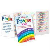 101 Ways To Praise Kids Pocket Pal - Personalization Available
