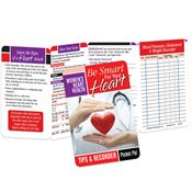 Be Smart For Your Heart Women's Heart Health Pocket Pal - Personalization Available