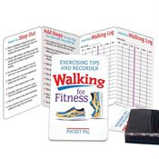 Walking For Fitness Exercising Tips & Recorder Pocket Pal - Personalization Available