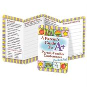 A Parent's Guide To A+ Parent-Teacher Conferences Pocket Pal - Personalization Available