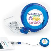 Respiratory Care: A Matter Of Life And Breath Retractable Badge Holder