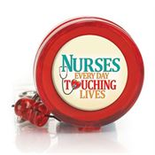 Nurses: Every Day Touching Lives Retractable Badge Holder