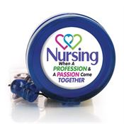 Nursing: When A Profession & A Passion Come Together Retractable Badge Holder
