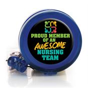 Proud Member Of An Awesome Nursing Team Retractable Badge Holder