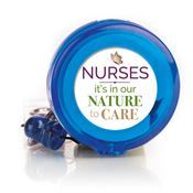 Nurses: It's In Our Nature To Care Retractable Badge Holder