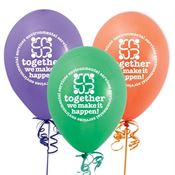 Environmental Services Together We Make It Happen! Balloons