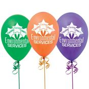 Environmental Services Capable Caring Committed Balloons