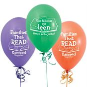 Families That Read Together Succeed Together Bilingual Balloons