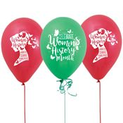 Women's History Month Balloons