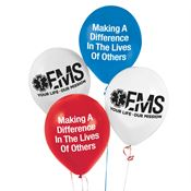 EMS: Your Life Our Mission Celebration Balloons