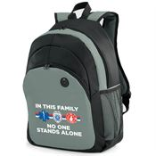 In This Family No One Stands Alone Brentwood Laptop/Tablet Backpack