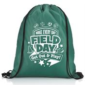 Make Every Day Field Day: Get Out And Play! Drawstring Backpack