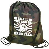Be All You Can Be...Drug Free Backpack