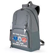 In This Family No One Stands Alone Canyon Laptop Backpack