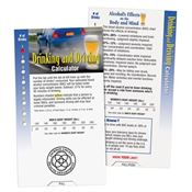 Drinking And Driving Calculator - Personalization Available