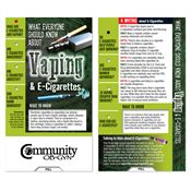 What Everyone Should Know About Vaping & E-Cigarettes Mini Slideguide - Personalization Available