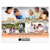 Bilingual Family Learning Perpetual Calendar - Personalization Available