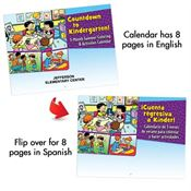 Bilingual Perpetual Calendar: Countdown To Kindergarten - Personalization Available