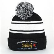 Environmental Services: A Shining Example Of Excellence Two-Tone Embroidered     Beanie