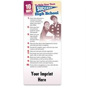 10 Ways To Help Your Child Succeed In High School EZ-Stick Glancer - Personalization Available