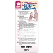 10 Ways To Help Your Child Succeed In High School Spanish EZ-Stick Glancer - Personalization Available