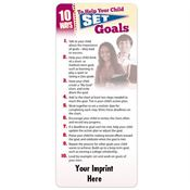 10 Ways To Help Your Child Set Goals EZ-Stick Glancer - Personalization Available