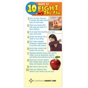 10 Ways To Fight The Flu Magnetic Glancer - Personalization Available