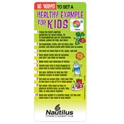 10 Ways To Set A Healthy Example For Kids Magnetic Glancer - Personalization Available