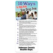10 Ways To Help Kids Stay Drug-Free Magnetic Glancer - Personalization Available