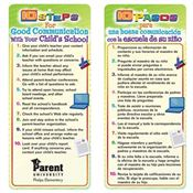 10 Steps For Good Communication With Your Child's School Bilingual Glancer - Personalization Available