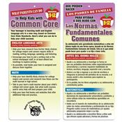 Parents Can Help Kids With Common Core Bilingual Glancer - High School - Personalization Available