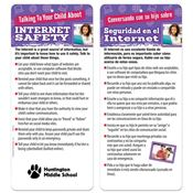 Talking To Your Child About Internet Safety Bilingual Glancer - Personalization Available