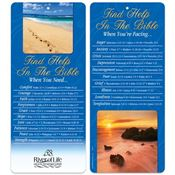 Find Help In The Bible 2-in-1 Bible Marker/Glancer - Personalization Available