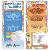 How To Use The Bible 2-In-1 Bible Marker/Glancer - Personalization Available