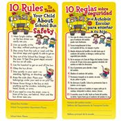 10 Rules To Teach Your Child About School Bus Safety Bilingual Glancer