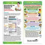 Understanding Food Labels For People With Diabetes Two-Sided Spanish Glancer - Personalization Available