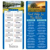 Find Help In The Bible 2-in-1 Bible Marker with 2019 Calendar - Personalization Available