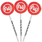 I Just Got My Flu Shot Lollipop