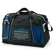 Law Enforcement: The Thin Blue Line Northport Duffel Bag