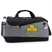 911 Dispatchers: The Thin Gold Line Princeton Duffel Bag