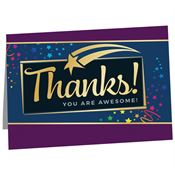 Thanks! You Are Awesome! Greeting Card