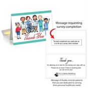 Thank You, Patient Follow-Up Greeting Card - Personalization Available