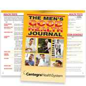 The Men's Good Health Journal - Personalization Available