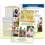 Activity & Food Tracker Journal- Personalization Available