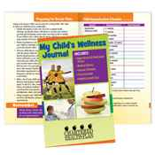 My Child's Complete Health Organizer With Wellness And Safety Tips - Personalization Available