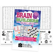 Brain Builders: Puzzles For Adults Of All Ages - Personalization Available