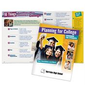 Planning For College: Guidebook For Students - Personalization Available