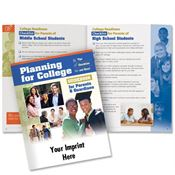 Planning For College: Guidebook For Parents & Guardians - Personalization Available