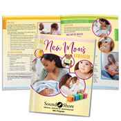 New Mom And Baby Care Handbook Easy-Read Version - Personalization Available